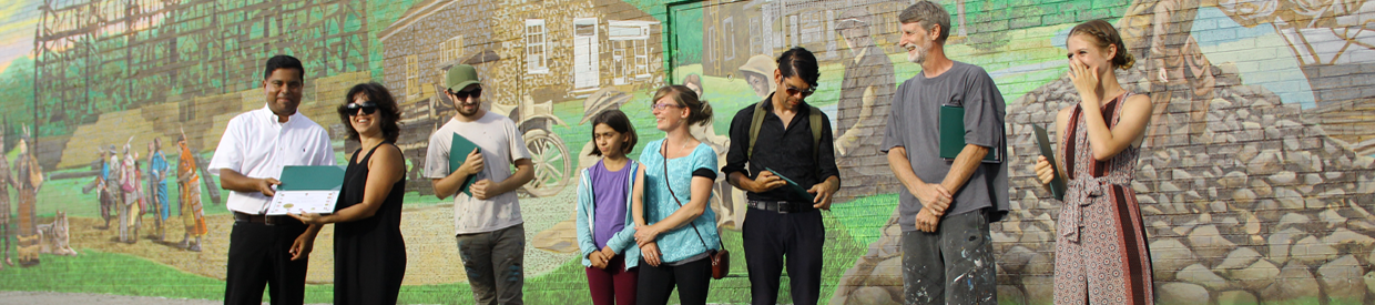 Opening of Port Union-Rouge Park Mural